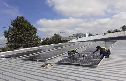 Điện năng lượng mặt trời mái nhà