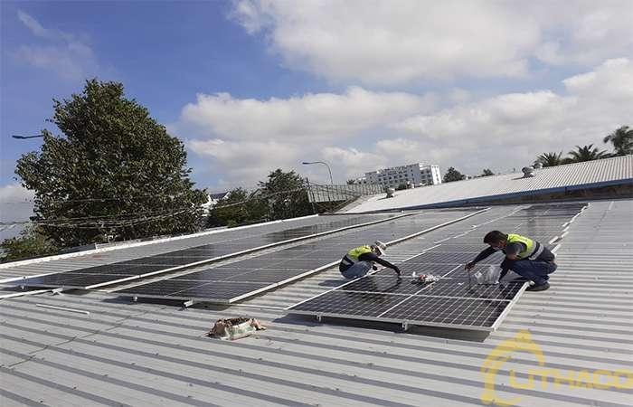 Điện năng lượng mặt trời mái nhà 1