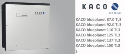 Bảo trì và khắc phục sự cố lỗi biến tần KACO blueplanet 87.0-150 TL3