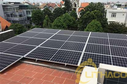 Điện mặt trời nối lưới 10.4 kWp