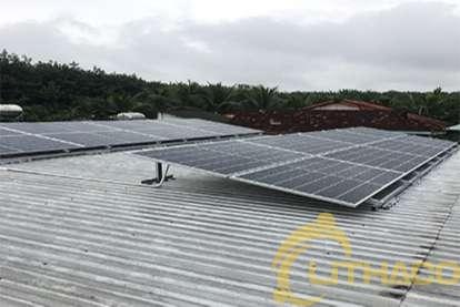 Điện mặt trời nối lưới 6.4 kWp