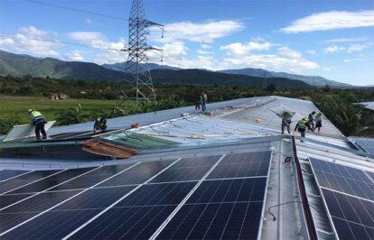 Điện mặt trời nối lưới 400kW