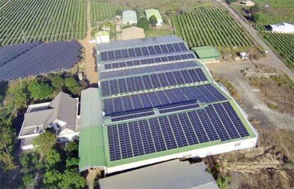Điện mặt trời nối lưới 1200kW