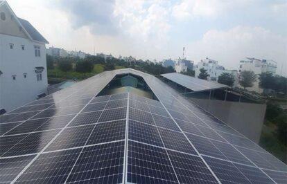 Điện mặt trời nối lưới 100kW