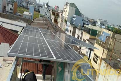 Điện mặt trời nối lưới 10 kWp