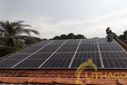 Điện mặt trời nối lưới 12.8 kWp