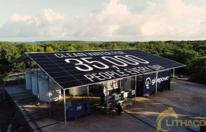 Kenya dùng điện mặt trời biến nước biển thành nước ngọt 1
