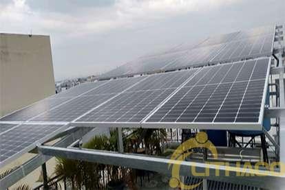 Điện mặt trời nối lưới 5.5 kWp
