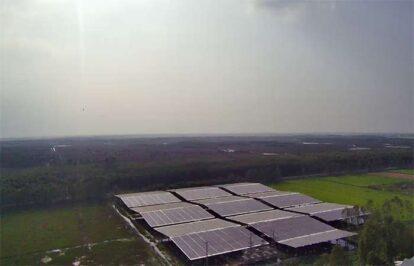 Điện mặt trời nối lưới 1250kW
