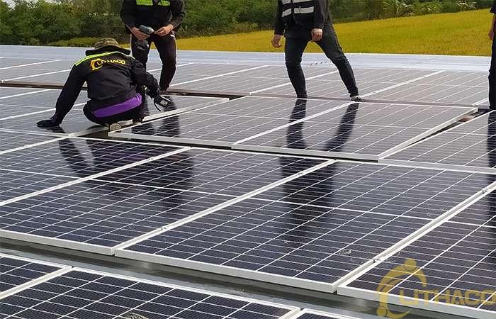 Điện mặt trời nối lưới 999kW