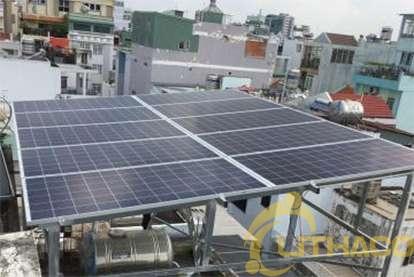 Điện mặt trời nối lưới 3.45 kWp