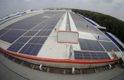 Điện mặt trời nối lưới 220kW