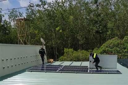 Điện mặt trời nối lưới 8.40kWp