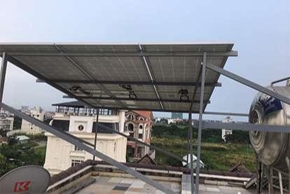 Điện mặt trời nối lưới 6.66kWp
