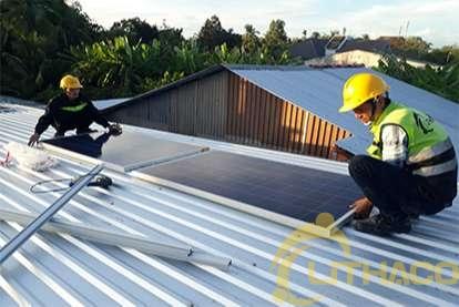 Điện mặt trời nối lưới 1.12kWp
