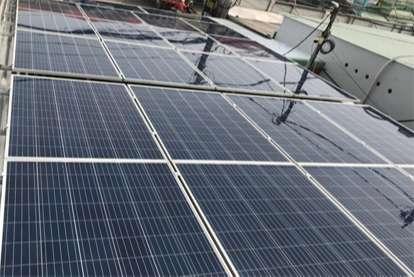 Điện mặt trời nối lưới 8.265kWp