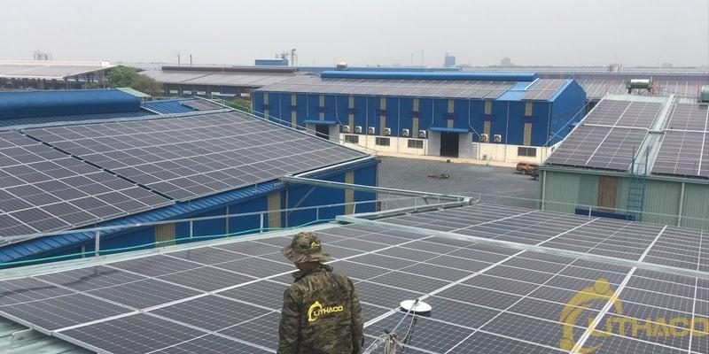 Dịch vụ vận hành và bảo trì(O&M) nhà máy điện mặt trời 1