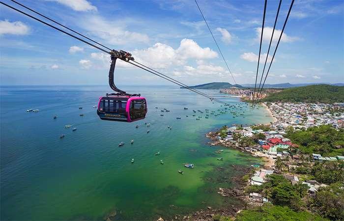 Cáp treo và quần thể vui chơi giải trí biển Hòn Thơm – Phú Quốc (Sunhome 1)