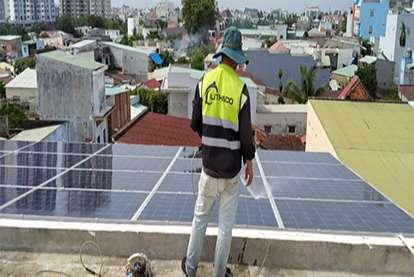 Điện mặt trời nối lưới 10.35kWp