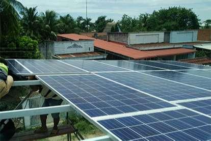 Điện mặt trời nối lưới 6kWp