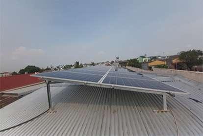 Điện mặt trời nối lưới 6.21kWp