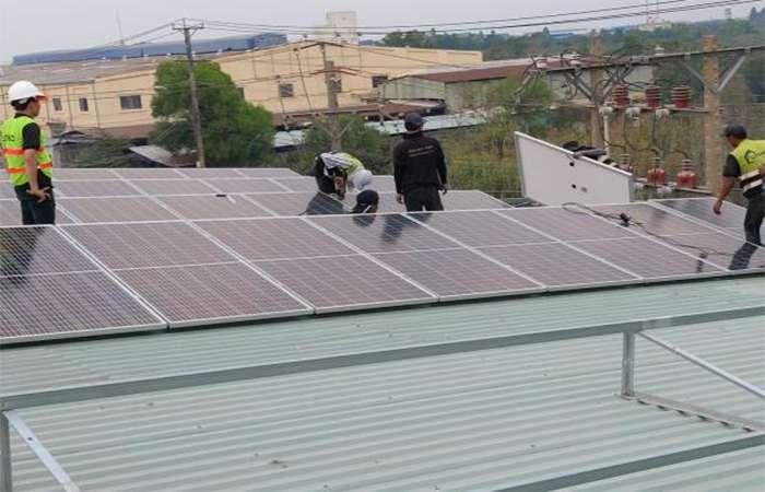 Điện mặt trời tương tác lưới 1