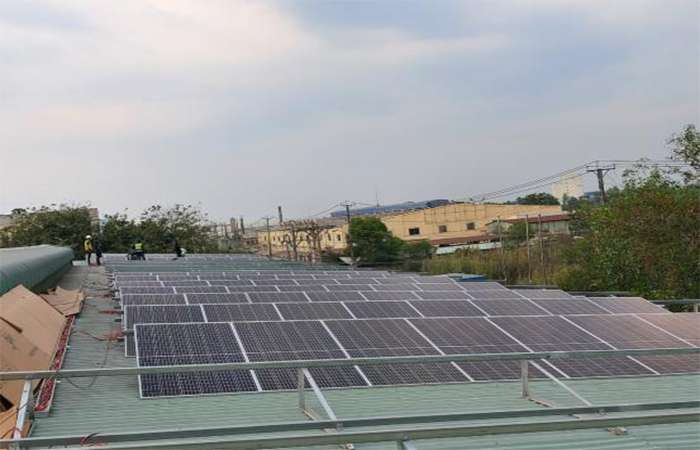 Điện mặt trời nối lưới 170kW