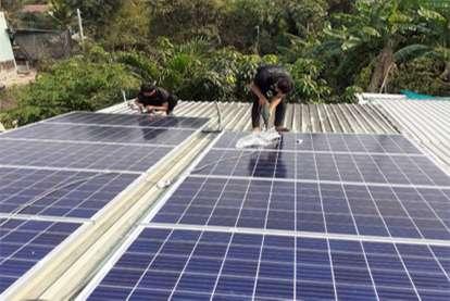 Điện mặt trời nối lưới 4.56kWp