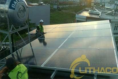 Điện mặt trời nối lưới 3kWp