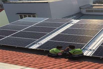 Điện mặt trời nối lưới 7.2kWp