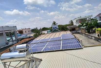 Điện mặt trời nối lưới 8.4kWp