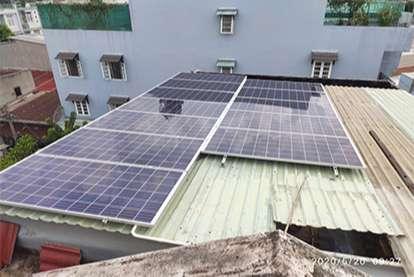 Điện mặt trời nối lưới 4.14kWp
