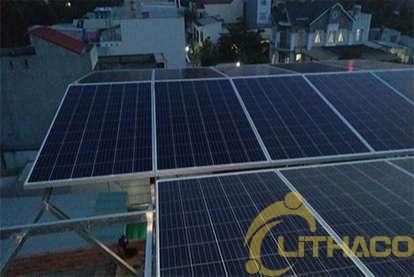 Điện mặt trời nối lưới 5kWp