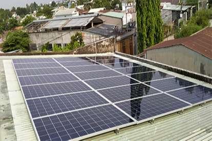 Điện mặt trời nối lưới 7kWp