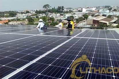 Điện mặt trời nối lưới 20kWp