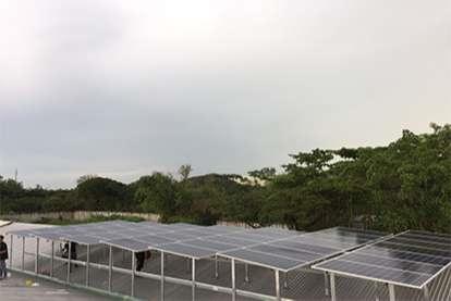 Điện mặt trời nối lưới 30.36kWp