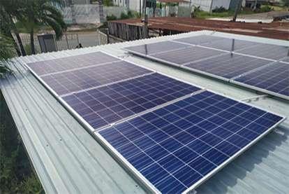 Điện mặt trời nối lưới 5.04kWp