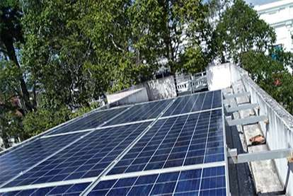 Điện mặt trời nối lưới 3.105kWp