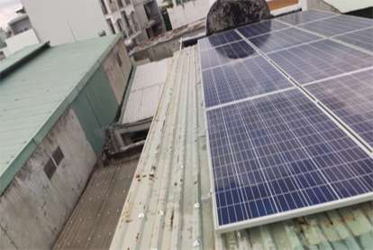 Điện mặt trời nối lưới 3.135kWp