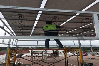 Điện mặt trời nối lưới 3.1kWp