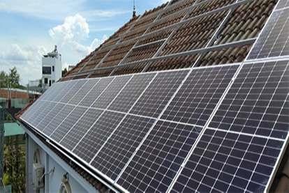 Điện mặt trời nối lưới 10.4kWp