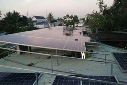Điện mặt trời nối lưới 12.54kWp