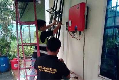 Điện mặt trời nối lưới 6.50kWp