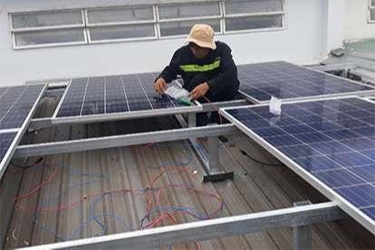 Điện mặt trời nối lưới 4.32kWp