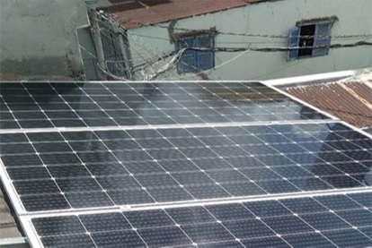 Điện mặt trời nối lưới 1.36kWp