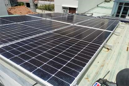 Điện mặt trời nối lưới 1.68kWp