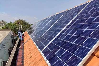 Điện mặt trời nối lưới 6.27kWp