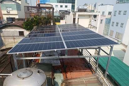 Điện mặt trời nối lưới 5.1kWp