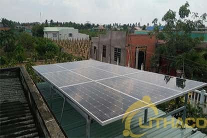 Điện mặt trời nối lưới 3.36kWp