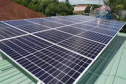 Điện mặt trời nối lưới 9.79kWp